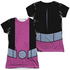 "Teen Titans Go! ""Beast Boy Uniform"" Girl's Junior Dye Sublimation Babydoll Tee"