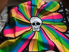 Lush ** Furoshiki ** Halloween ** Skulls Rainbow 🌟 ** Knot Wrap ** neu
