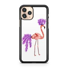 Milky Way Star Cluster Covered Elegant Ostrich Flamingo Bird Phone Case Cover