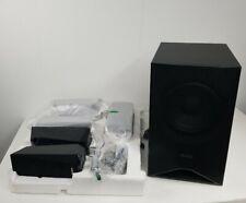 Sony 5.1 Speakers Set - SS-TSB122 R L SR SL, SS-CTB122 Center, SS-WSB123 Sub