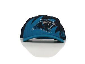 Carolina Panthers Sharktooth Logo 7 Vintage 90's Snapback Cap Hat - NWT    RARE