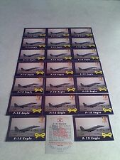 *****F-15 Eagle*****  Lot of 21 cards