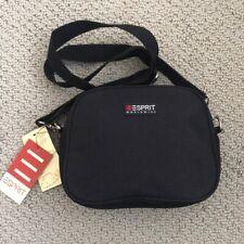 Vintage Esprit Black Convertible Purse Fannie Pack Bag New with Tags