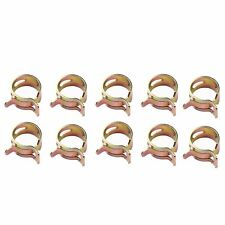 "10 Pieces Spring clip 1/4"" Fuel Hose Clamp fits 1/4 inch Fuel Line Hose Id=12mm"