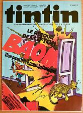 BD Comics Magazine Hebdo Journal Tintin No 31 35e Le Retour de Clifton