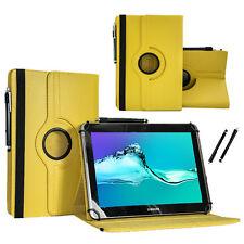 """Schutzhülle für Samsung Galaxy Tab 2 P5110 Tablet Case 10.1"""" 360 Gelb"""