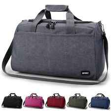 Men Women Nylon Travel Duffel Bag Weekender Gym Bag Sport Holdall Bag   !