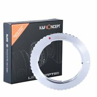 K&F Concept Lens Adapter for Pentax K PK Lens to the Canon EOS EF-S Camera Body