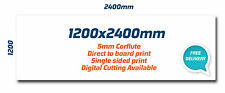 Corflute 5mm 1200x2400mm Full Colour Outdoor Print Sign