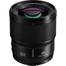 Panasonic Lumix S 85mm f/1.8 Lens Two Extra-Low Dispersion Elements Linear AF Mo