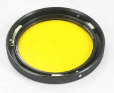 """HYCON CLASS III YELLOW FILTER, PART NO. 120769-2A, 3-PIN MOUNT ~4""""/178437"""
