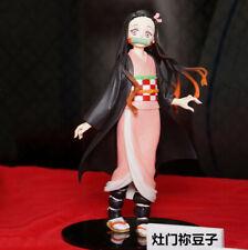 Anime Demon Slayer: Kimetsu no Yaiba Kamado Nezuko PVC Figure Toy New