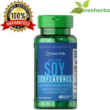 NON-GMO SOY ISOFLAVONES 750MG WOMEN'S MENOPAUSE HEALTH SUPPLEMENT 60 CAPSULES