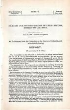 Cmte for the District of Columbia-Damages due to construction of Union Station,