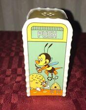 2020 Epcot Flower and Garden Festival Salt/Pepper Shaker Spike The Bee New