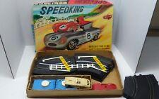 VTG Speedking Road Racing Motor Rally Track Set Jaguar slot cars RARE HONG KONG
