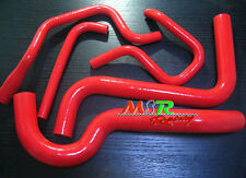RED SILICONE RADIATOR HEATER HOSE FOR HOLDEN COMMODORE VS 3.8L V6 1995 1996 1997