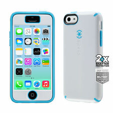 Speck CandyShell + FACEPLATE iPhone 5c Cases White/Lagoon Blue