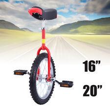 """Monociclo ruota regolabile uniciclo Bicicletta equilibrio 20""""/50.8cm"""