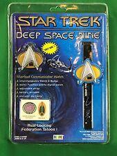1994 Hope Star Trek Deep Space Nine Communicator Watch New in Pack