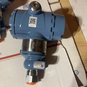 New Rosemount 3051TG4 Pressure Transmitter  Model: 3051TG4A2B21AB4K5M5