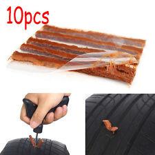 10pcs Car Van Tyre Plug Tire Puncture Recovery Kit Repair Tubeless Seal Strip