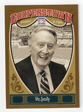 VIN SCULLY 2013 Panini Cooperstown Collection Card #65