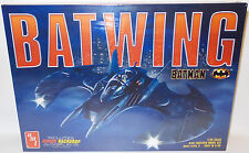 BATMAN : BATWING 1/25 SCALE MODEL KIT MADE BY AMT IN 2016 WITH BONUS BACKDROP