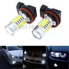 2pcs H11 CREE LED Projector Fog Light DRL 11W For Audi A3 A4 A5 S5 A6 Q5 Q7 TT