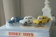 DINKY TOYS / ATLAS 1400G  COFFRET COLLECTOR n°  RENAULT GORDINI  COMPLET