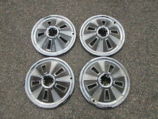 1966 Ford Mustang Hubcaps Set Of Four