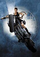LARA CROFT; TOMB RAIDER Movie PHOTO Print POSTER Textless Art Angelina Jolie 001