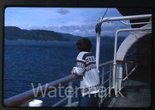 1964 kodachrome photo slide Aboard Ship MS Gripsholm Swedish American Line #3