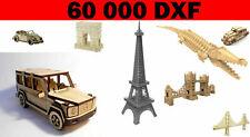 60.000+ Laser Cut Vector DXF CDR CNC 3D files pantograph CNC router Doll House