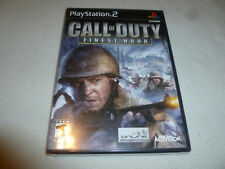 BRAND NEW FACTORY SEALED PLAYSTATION 2 GAME CALL OF DUTY FINEST HOUR PS2 NFS >>