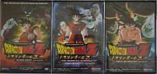 Dragon Ball Z Movie Lot 3 New DVD Set Dead Zone Tree of Might World Strongest