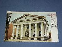 VINTAGE 1908 COURT HOUSE SCHENECTADY  NEW YORK   POSTCARD