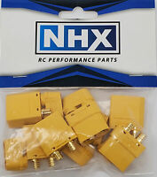 NHX XT90H Adapter Connector Plug Male / Female 3Pairs/Bag