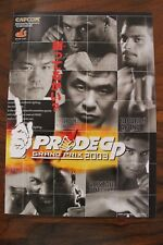 CAPCOM PRIDE 2003GP ARCADE BROCHURE - ufc mma rizin program