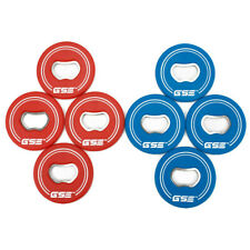 4 Red/4 Blue Replacement Washers w/Bottle Opener for Washers Toss Pitching Game