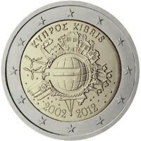 Cipro 2012 Ume Dixième Anniversaire Union Monétaire