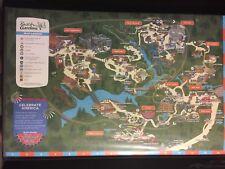 2014 Busch Gardens Amusement Park Map Guide official Virginia