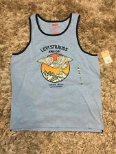 Levis Mens XXL Tank Top Graphics Retro Logo NWT