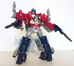 Transformers Takara Titan Returns Legends LG35 Super Ginrai (Optimus Prime)
