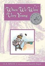When We Were Very Young by A A Milne (Hardback)