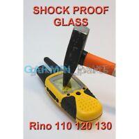 New Shock proof glass for Garmin Rino 130, 120, 110 replacement repair lens DIY
