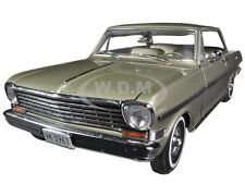 1963 CHEVROLET NOVA HARD TOP AUTUMN GOLD 1/18 DIECAST MODEL CAR BY SUNSTAR 3967