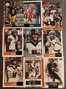(54) Oregon State Beavers Football Card Lot! Brandin Cooks- Hodgins- Luton