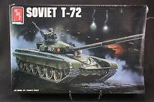 XG003 AMT Ertl 1/35 maquette tank char 8671 Soviet T-72 T72 357