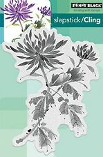 Bejeweled Flower, Cling Style Unmounted Rubber Stamp PENNY BLACK - NEW, 40-452